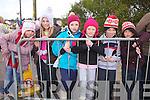 Duathlon fans watching mums, dads aunts and uncles in Chapletown, Valentia on Saturday last were l-r; Grace Flynn, Anne Flynn, Annie Condon, Millie Condon, Philip Flynn & Donagh Flynn.