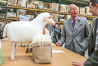 JUL 19 Prince Charles visits Woolcool in Stone in Staffordshire, UK