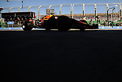 23rd March 2018, Melbourne Grand Prix Circuit, Melbourne, Australia; Melbourne Formula One Grand Prix, Friday free practice; Daniel Ricciardo of Australia driving the (3) Aston Martin Red Bull Racing RB14 TAG Heuer through pit lane