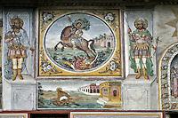 BG51506.JPG BULGARIA, BATCHKOVO MONASTERY, Refectory, 1601, frescoes