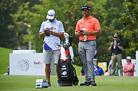Jon Rahm (ESP) looks over his tee shot on 8 during round 3 of the WGC FedEx St. Jude Invitational, TPC Southwind, Memphis, Tennessee, USA. 7/27/2019.<br /> Picture Ken Murray / Golffile.ie<br /> <br /> All photo usage must carry mandatory copyright credit (© Golffile | Ken Murray)