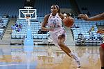 13 November 2015: North Carolina's Stephanie Watts. The University of North Carolina Tar Heels hosted the Gardner-Webb University Runnin' Bulldogs at Carmichael Arena in Chapel Hill, North Carolina in a 2015-16 NCAA Division I Women's Basketball game. Gardner-Webb won the game 66-65.