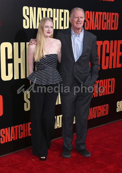 """10 May 2017 - Westwood, California - Ed Begley Jr., Hayden Carson Begley. """"Snatched"""" World Premiere held at the Regency Village Theatre. Photo Credit: AdMedia"""