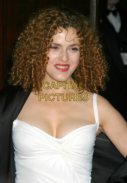 BERNADETTE PETERS .The Actors Fund of America Gala at the Waldorf Astoria,  New York City, New York, USA, October 30th 2004. .half length white dress.Ref: IW.www.capitalpictures.com.sales@capitalpictures.com.©Capital Pictures.