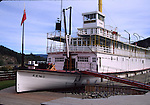 Keno boat in Dawson City