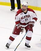 Danny Biega (Harvard - 9) - The Harvard University Crimson defeated the Dartmouth College Big Green 4-1 (EN) on Monday, January 18, 2010, at Bright Hockey Center in Cambridge, Massachusetts.