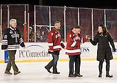 Mark Walsh, Scott Farden, Bill Cleary - The Union College Dutchmen defeated the Harvard University Crimson 2-0 on Friday, January 13, 2012, at Fenway Park in Boston, Massachusetts.