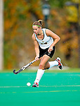 25 October 2009: University of Vermont Catamount midfielder Mackenzie Williams, a Sophomore from Rome, NY, in action against the Columbia University Lions at Moulton Winder Field in Burlington, Vermont. The Lions shut out the Catamounts 1-0. Mandatory Credit: Ed Wolfstein Photo