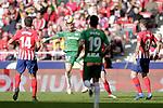 (L to R) Club Atletico de Madrid's Rodrigo Hernandez, Saul Niguez and Futbol Club Deportivo Alaves' Jonathan Calleri, Manu Garcia during La Liga match. December,8,2018. (ALTERPHOTOS/Alconada)