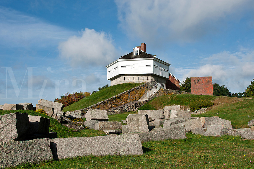 Fort McClary State Historic Site, Kittery Point, Maine, USA