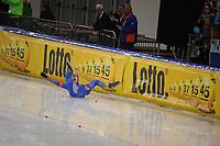 SCHAATSEN: Boarding beveiliging rond ijsbanen geleverd door Sidijk sport, fun and industry, ©foto Martin de Jong
