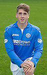 St Johnstone FC 2014-2015 Season Photocall..15.08.14<br /> Gareth Rodger<br /> Picture by Graeme Hart.<br /> Copyright Perthshire Picture Agency<br /> Tel: 01738 623350  Mobile: 07990 594431