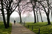 Walking in Regents Park, London