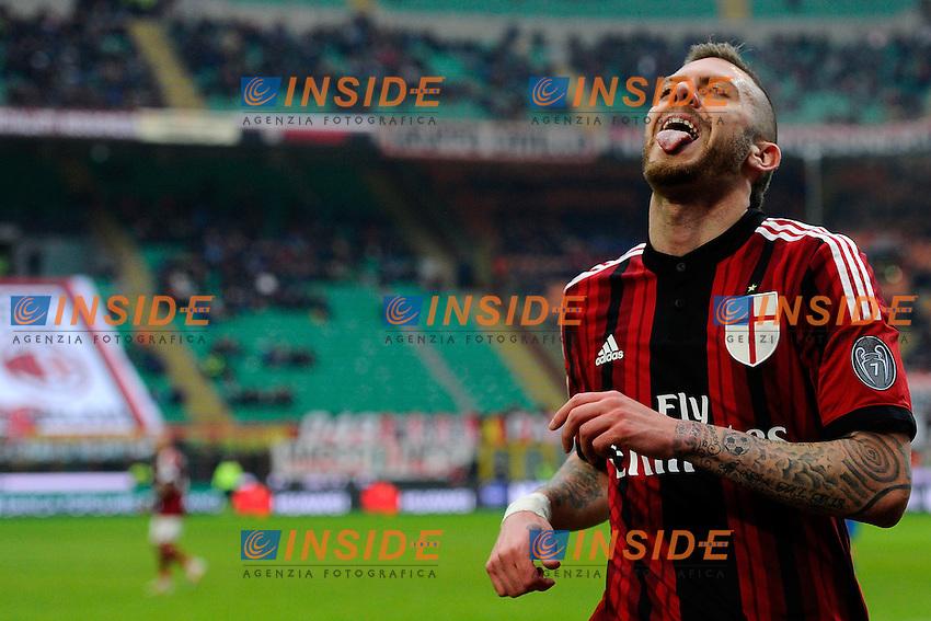 Jeremy Menez Milan<br /> Milano 15-02-2015 Stadio Giuseppe Meazza - Football Calcio Serie A Milan - Empoli. Foto Giuseppe Celeste / Insidefoto