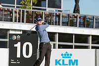 Michael Hoey (NIR) in action on the 10th hole during the 2nd round at the KLM Open, The International, Amsterdam, Badhoevedorp, Netherlands. 13/09/19.<br /> Picture Stefano Di Maria / Golffile.ie<br /> <br /> All photo usage must carry mandatory copyright credit (© Golffile | Stefano Di Maria)