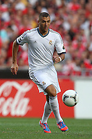 Karim Benzema - 27.07.2012 - Benfica / Real Madrid - Coupe Eusebio ..Photo : Carlos Rodrigues / Icon Sport....