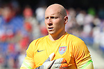 18 July 2015: Brad Guzan (USA). The United States Men's National Team played the Cuba Men's National Team at M&T Bank Stadium in Baltimore, Maryland in a 2015 CONCACAF Gold Cup quarterfinal match. The U.S. won the game 6-0.