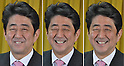 Shinzo Abe Speaks at the Press Conference of the Winning of LDP