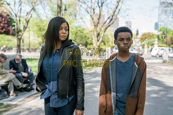 Proud Mary (2018) <br /> As they stroll through Boston, Mary (Taraji P. Henson) and Danny  (Jahi Di'Allo Winston) get to know each other a bit more<br /> *Filmstill - Editorial Use Only*<br /> CAP/KFS<br /> Image supplied by Capital Pictures