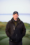 Mark Trenter, Assistant Superintendent at Chambers Bay Golf Course in University Place, Washington, which will host the 2015 U.S. Open in June 2015. Photo by Daniel Berman for Golf Course Management Magazine.