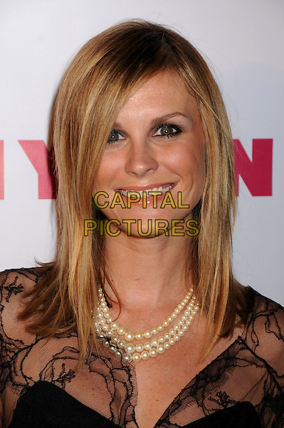 "BONNIE SOMERVILLE.NYLON Magazine's ""90210"" Cover Launch Party at the Roosevelt Hotel's Tropicana Bar, Hollywood, California, USA. .September 4th, 2008 .headshot portrait perl necklace.CAP/ADM/BP.©Byron Purvis/AdMedia/Capital Pictures."