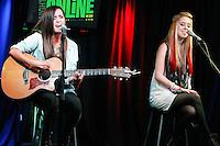Megan &amp; Liz visit Saturday Night Online's iHeart Radio Performance Theater in Bala Cynwyd, Pa on August 25, 2012  &copy; Star Shooter / MediaPunchInc /NortePhoto.com<br /> <br /> **SOLO*VENTA*EN*MEXICO**<br /> **CREDITO*OBLIGATORIO** <br /> *No*Venta*A*Terceros*<br /> *No*Sale*So*third*<br /> *** No*Se*Permite*Hacer*Archivo**<br /> *No*Sale*So*third*