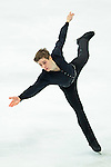 TAIPEI, TAIWAN - JANUARY 24:  Richard Dornbush of USA performs his routine at the Men Free Skating event during the Four Continents Figure Skating Championships on January 24, 2014 in Taipei, Taiwan.  Photo by Victor Fraile / Power Sport Images *** Local Caption *** Richard Dornbush