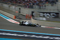 1st December 2019; Yas Marina Circuit, Abu Dhabi, United Arab Emirates; Formula 1 Abu Dhabi Grand Prix, race day; Mercedes AMG Petronas Motorsport, Lewis Hamilton - Editorial Use