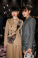 Kozue Akimoto and Emma in the front row<br /> <br /> Dior Homme show, Front Row, Pre Fall 2019, Tokyo, Japan - 30 Nov 2018<br /> CAP/SAT<br /> &copy;Satomi Kokubun/Capital Pictures