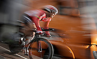 Greg Henderson (NZL/Lotto-Soudal) speeding off the start ramp<br /> <br /> stage 1: prologue<br /> Ster ZLM Tour 2015