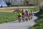 Riders descend off Paterberg during the 2019 E3 Harelbeke Binck Bank Classic 2019 running 203.9km from Harelbeke to Harelbeke, Belgium. 29th March 2019.<br /> Picture: Eoin Clarke | Cyclefile<br /> <br /> All photos usage must carry mandatory copyright credit (© Cyclefile | Eoin Clarke)