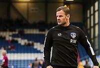 Oldham Athletic's manager Richie Wellens during the Sky Bet League 1 match between Oldham Athletic and Bristol Rovers at Boundary Park, Oldham, England on 30 December 2017. Photo by Juel Miah / PRiME Media Images.