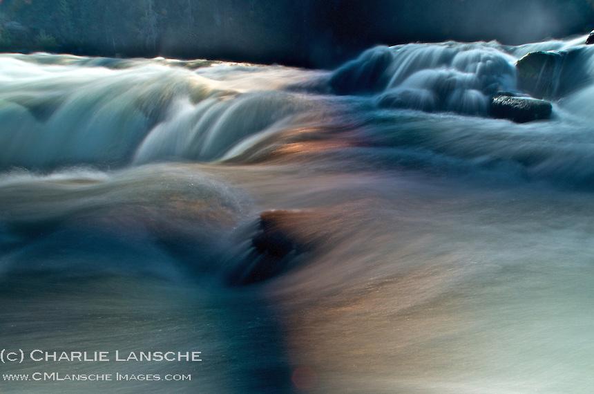 Lower Mesa Falls.  Henry's Fork of the Snake River, Idaho.