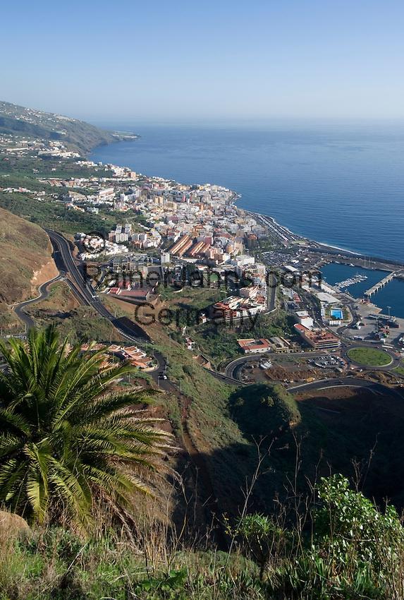 Spain, Canary Islands, La Palma, Santa Cruz de La Palma: capital - overview