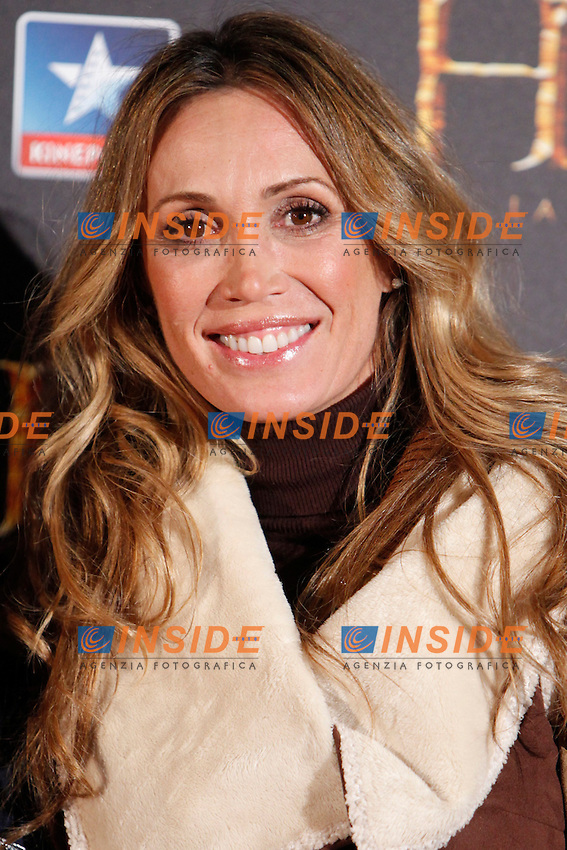 Cristina Sanchez attends the premiere of the film 'The Hobbit' at Kinepolis Cinema in Madrid. December 11, 2013. (ALTERPHOTOS/Caro Marin) <br /> Foto Insidefoto