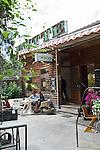 BERLIN, 10.6.2016. Restaurant Kanaan in Prenzlauer Berg, Kopenhagener Straße.