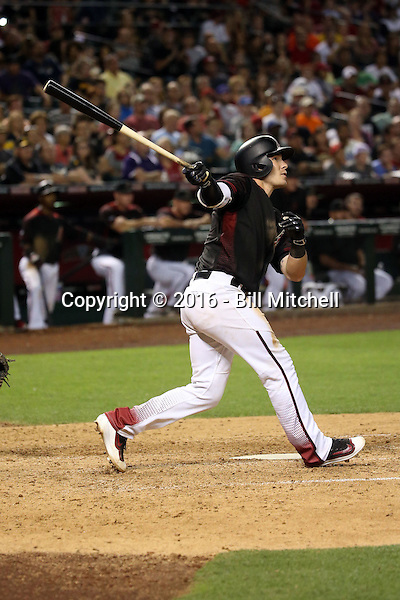 Chris Herrmann - 2016 Arizona Diamondbacks (Bill Mitchell)