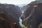 Above Phantom Ranch in Grand Canyon National Park, northern Arizona .  John offers private photo tours in Grand Canyon National Park and throughout Arizona, Utah and Colorado. Year-round.