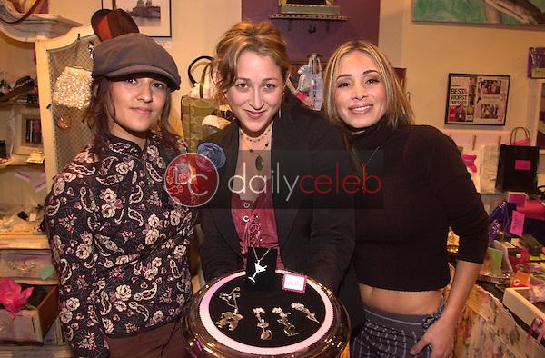 Rafaela Maldonado, Jennifer Blanc and Isabell Mosikian