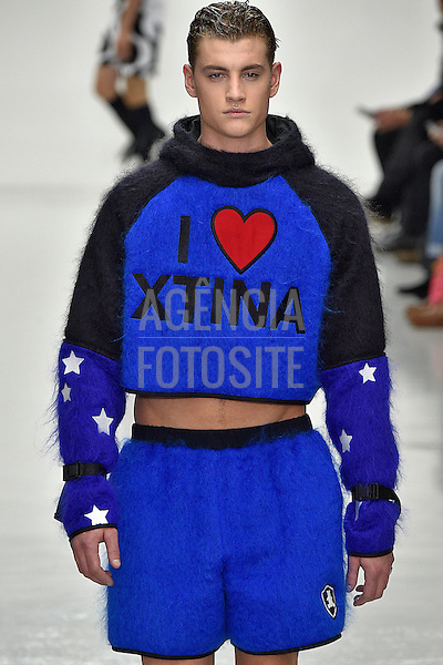 Bobby Abley<br /> <br /> Londres Masculino - Inverno 2016<br /> <br /> <br /> foto: FOTOSITE