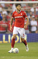 Nottingham Forest's Tobias Figueiredo<br /> <br /> Photographer Mick Walker/CameraSport<br /> <br /> The EFL Sky Bet Championship - Nottingham Forest v West Bromwich Albion - Tuesday August 7th 2018 - The City Ground - Nottingham<br /> <br /> World Copyright &copy; 2018 CameraSport. All rights reserved. 43 Linden Ave. Countesthorpe. Leicester. England. LE8 5PG - Tel: +44 (0) 116 277 4147 - admin@camerasport.com - www.camerasport.com