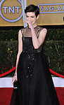 Anne Hathaway at the 19th Screen Actors Guild Awards held at the Shrine Auditorium in Los Angeles, CA. January 27, 2013.