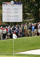 28 SEP 12  The 39th Ryder Cup at The Medinah Country Club in Medinah, Illinois.
