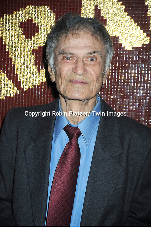 "Larry Storch attends Michael Musto's Book Release Party for his new book "" Fork on the Left, Knife in the Back"" on ..September 19, 2011 at Copacabana in New York City."