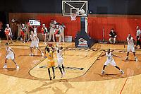 SAN ANTONIO, TX - NOVEMBER 7, 2016: The University of Texas at San Antonio Roadrunners defeat the Arkansas Tech University Wonder Boys 91-89 at the UTSA Convocation Center. (Photo by Jeff Huehn)