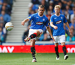 Jerome Rothen covers Steven Smith on the left wing