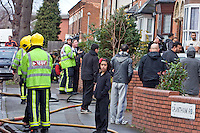 Birmingham Sparkbrook Grantham Road house Fire 4th Dec 2011