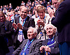 Conservative Party Conference ,<br /> Manchester, Great Britain <br /> 4th October 2015 <br /> <br /> Flying Officer Ken Wilkinson <br /> Squadron Leader Tony Pickering <br /> <br /> Photograph by Elliott Franks <br /> Image licensed to Elliott Franks Photography Services