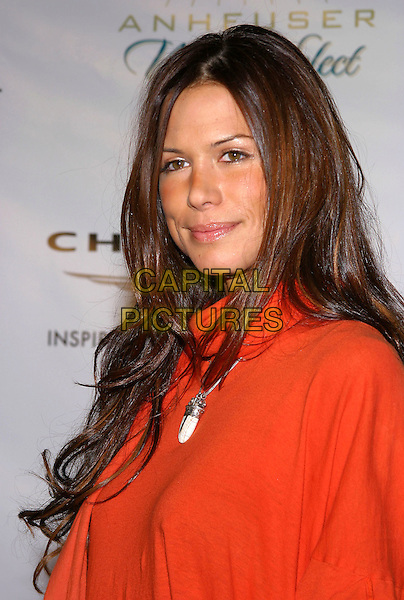 RHONA MITRA.Clive Davis Hosts A Celebration Of The American Music Awards held at The Esquire House. .14 November 2004.headshot, portrait, necklace, pendant.www.capitalpictures.com.sales@capitalpictures.com.© Capital Pictures.