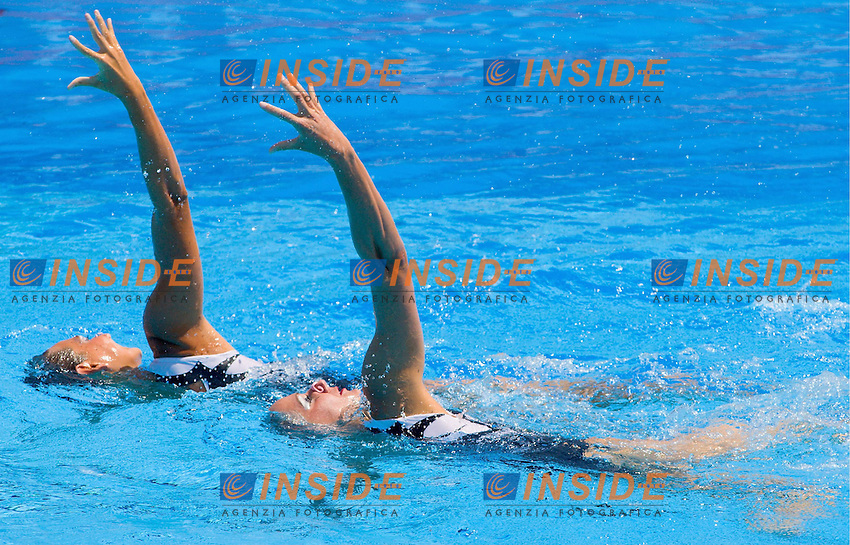 Roma 24st July 2009 - 13th Fina World Championships From 17th to 2nd August 2009..Duet Free..ITA Italy..ADELIZZI Beatrice 11 NOV 1988..LAPI Giulia 5 NOV 1985..photo: Roma2009.com/InsideFoto/SeaSee.com